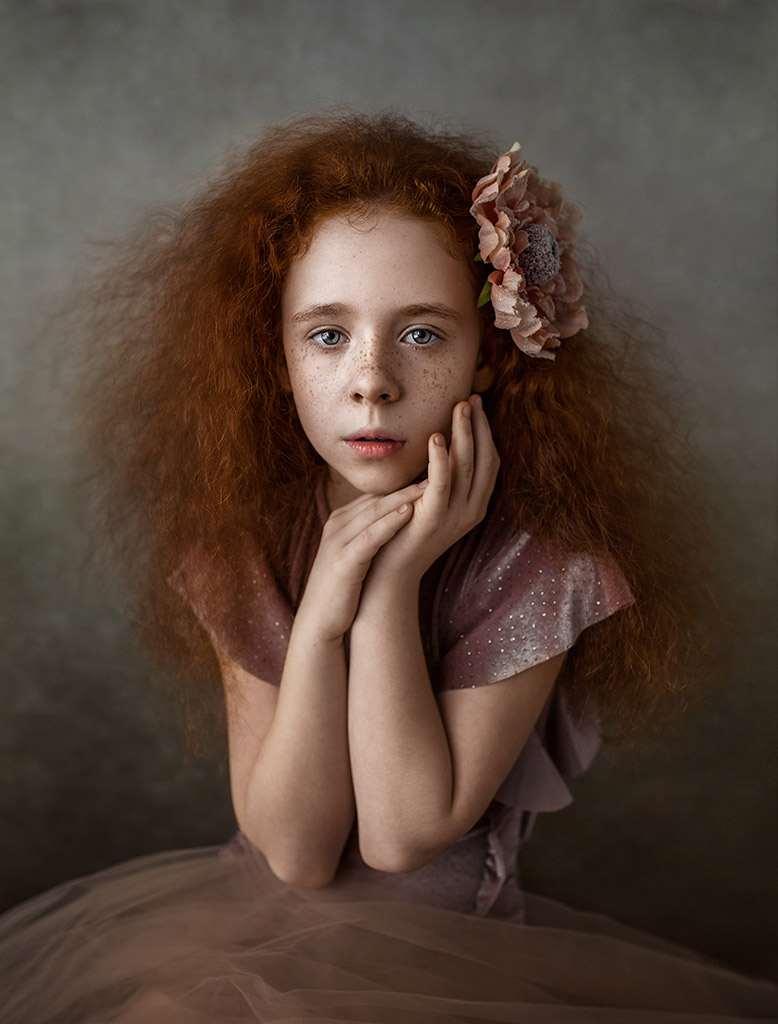 Nadia, © Kamila J Gruss, Poland, March 2019 Winner, Photo Competition for Child Portrait Photographers