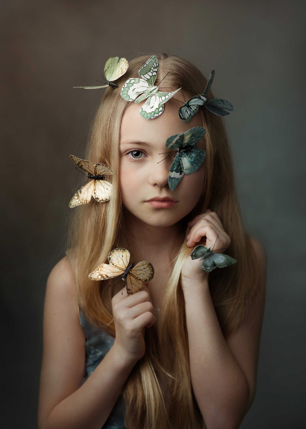 Butterfly Effect, © Mariola Glajcar, Poland, April 2019 Winner, Photo Competition for Child Portrait Photographers