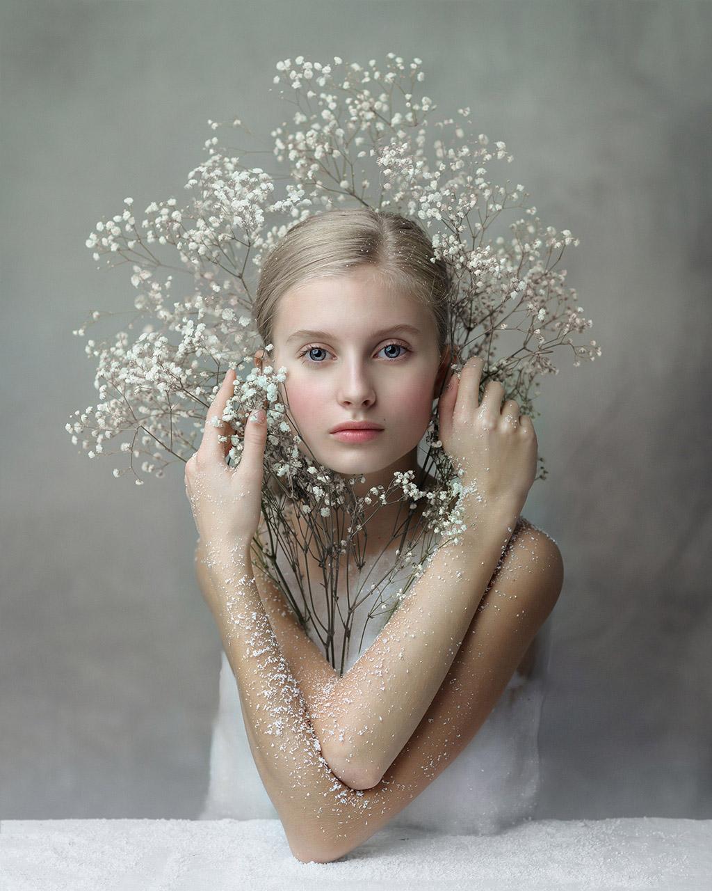 White Queen, © Mariola Glajcar, January 2020 Winner, CPC Portrait Awards
