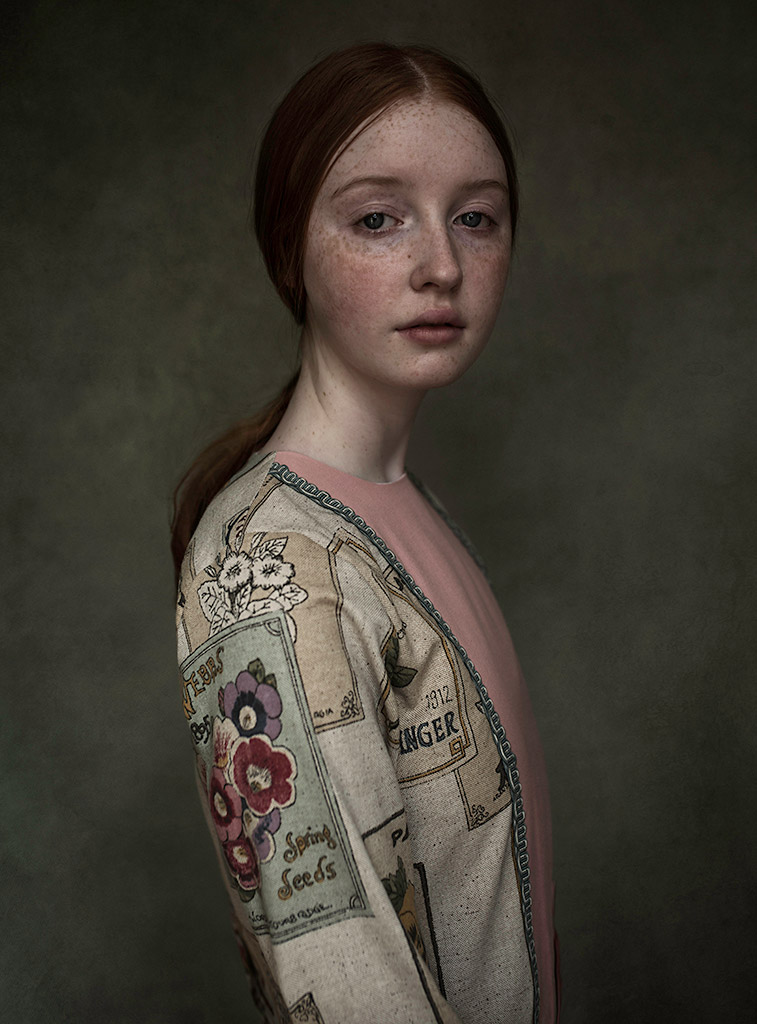 """Izzy"", © Anna Salek, UK, March 2018 Winner, CPC Portrait Awards - Photo Competition for Child Portrait Photographers"