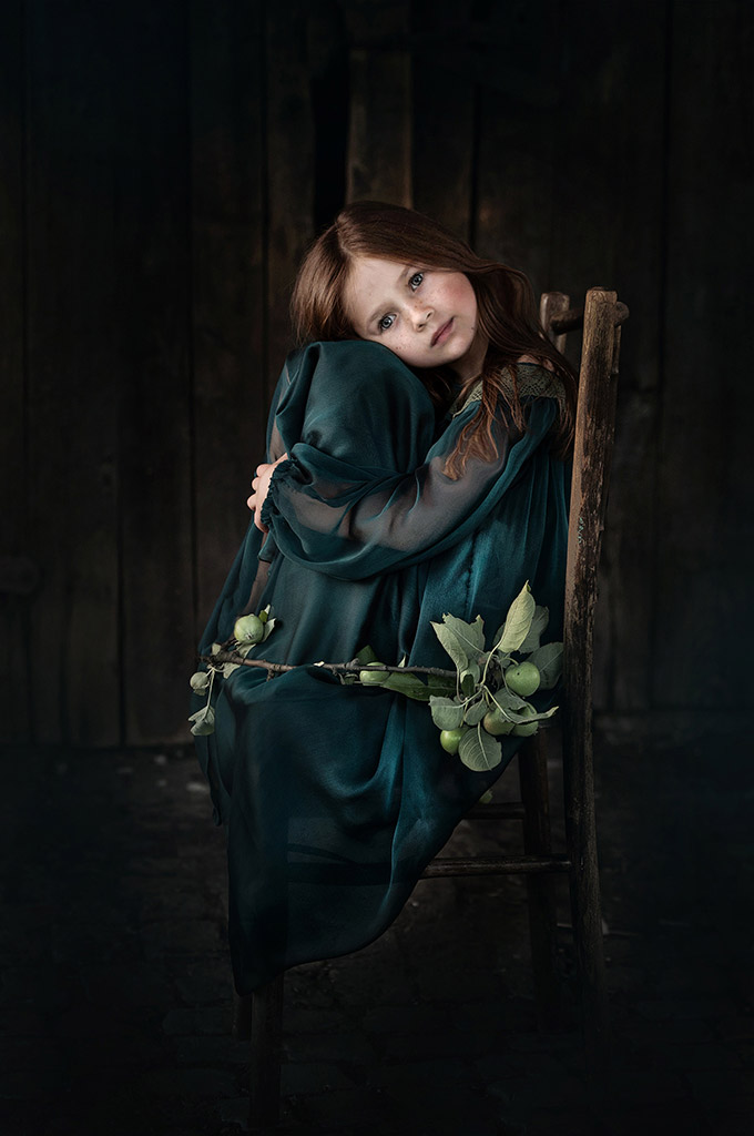 """Amelia"", © Kamila Celary-Kmiecik, Poland, June 2018 Winner, CPC Portrait Awards - Photo Competition for Child Portrait Photographers"