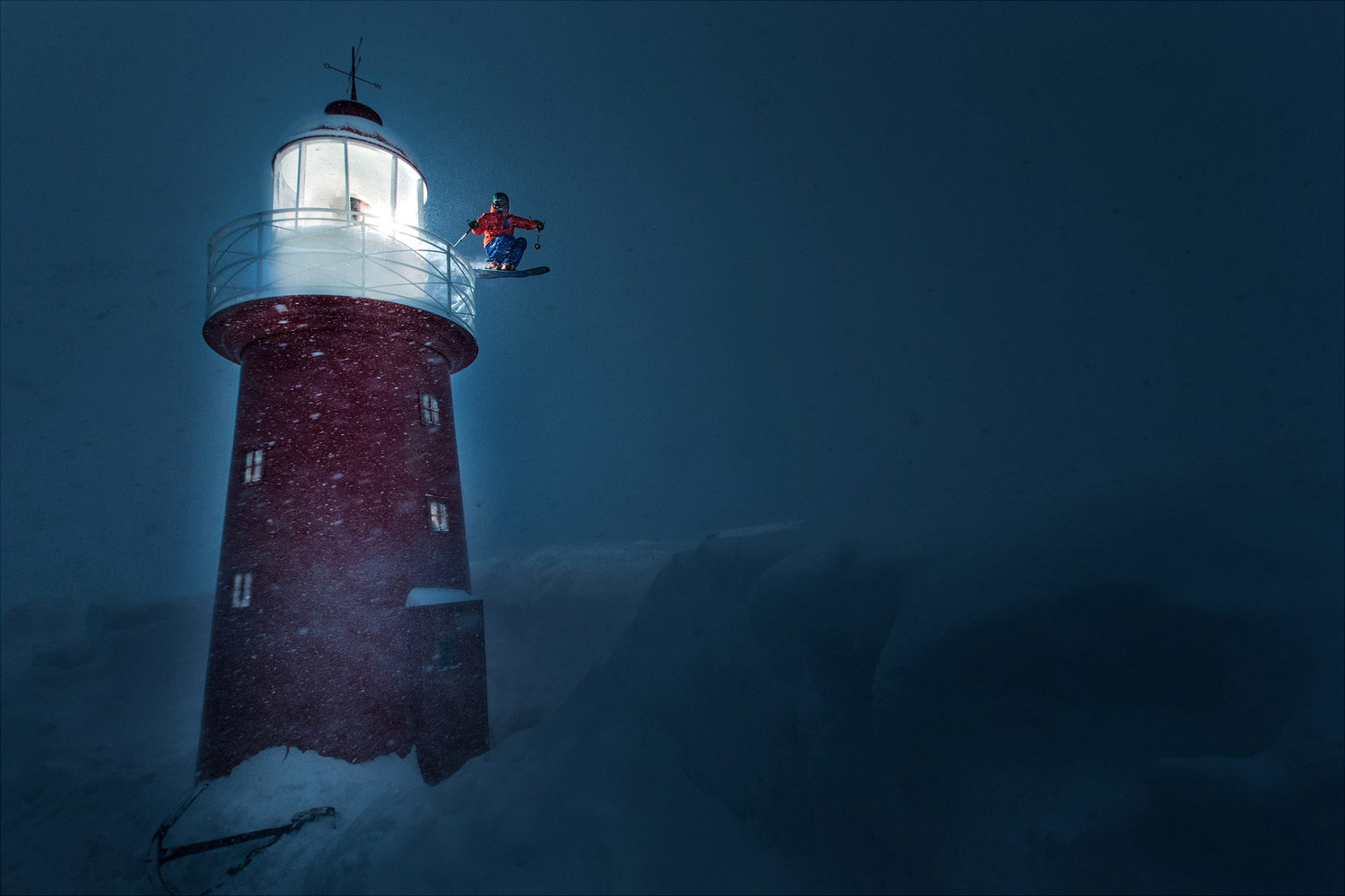 The Lighthouse, © Christoph Jorda, BMFF winner, CVCEPHOTO Contest