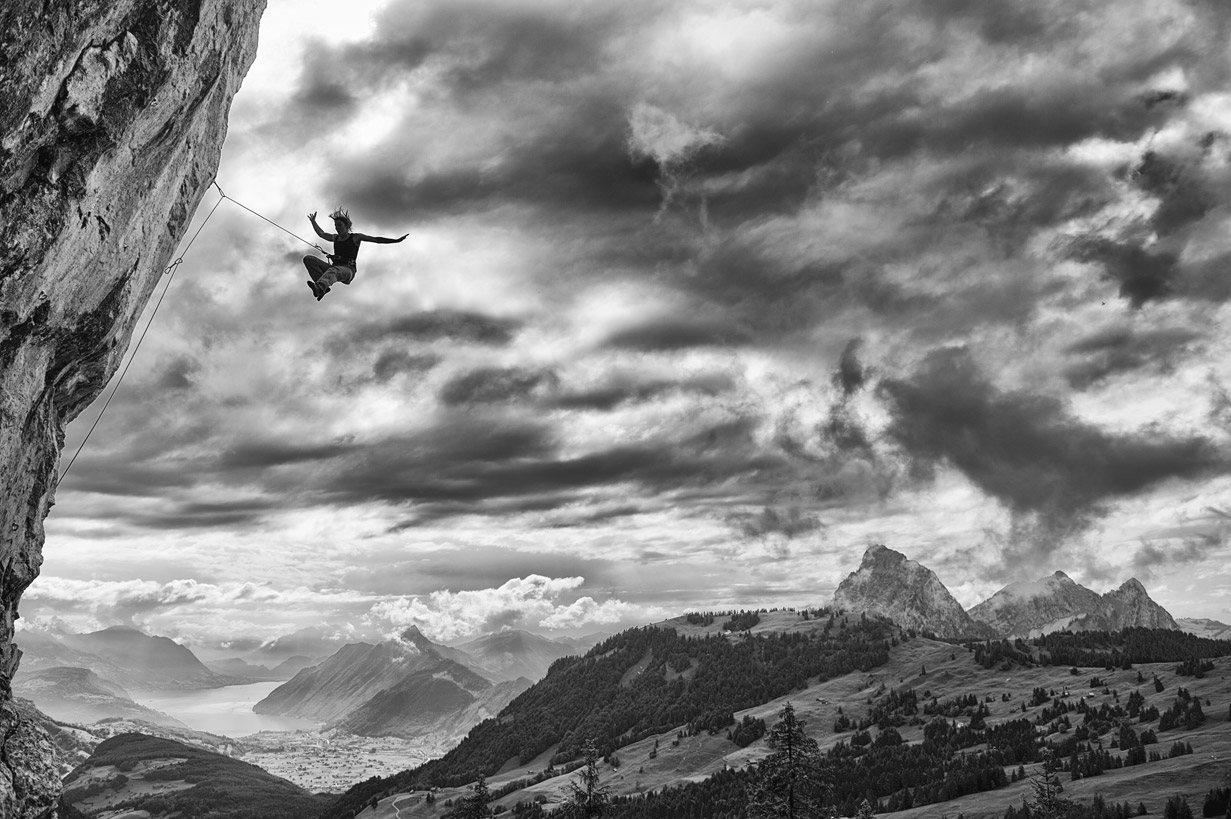 Learning To Fly, © Rainer Eder, CVCEPHOTO International Mountain Photo Contest