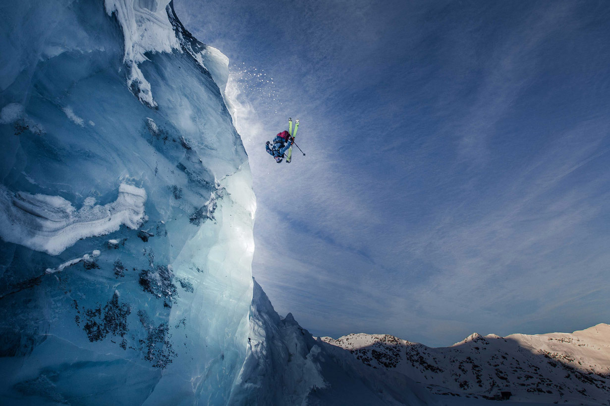 Backflip and Ice, © Christoph Jorda, CVCEPHOTO International Mountain Photo Contest