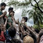 Rohingya Exodus, © K M Asad, 3 Place Conflict Category, Direct Look Photo Contest
