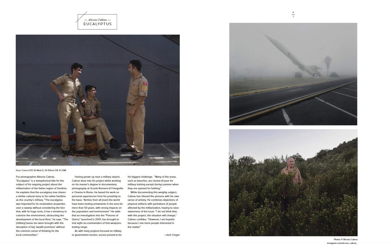 Eucalyptus, © Alessio Cabras, Emerging Photographer Fall