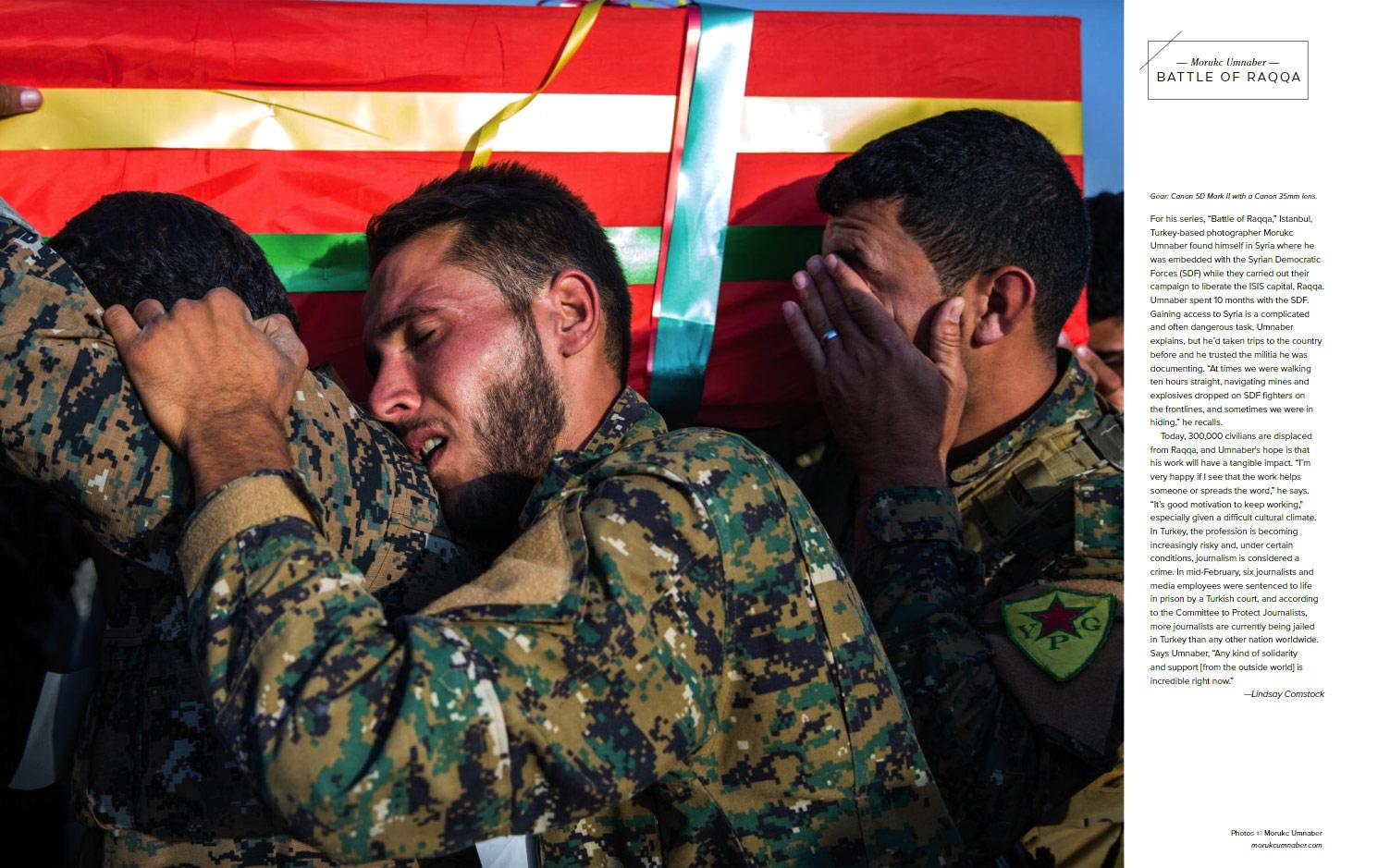 Battle Of Raqqa, © Morukc Umnaber, Emerging Photographer