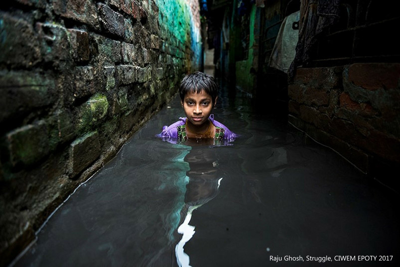 """Struggle"", © Raju Ghosh, Built Environment Winner, Environmental Photographer of the Year — EPOTY"