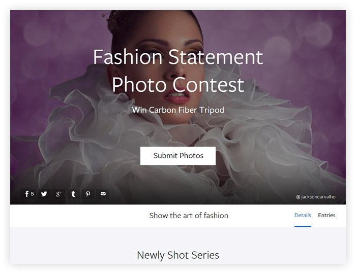 Fashion Statement Photo Contest
