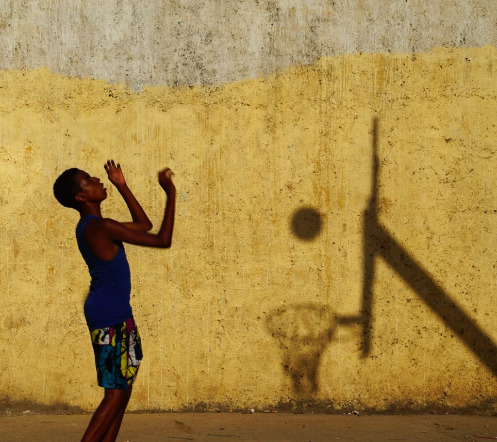 Basketball. A Game With a Shadow, © Sergei Koliaskin, 5th Place, FIBA Photo Contest