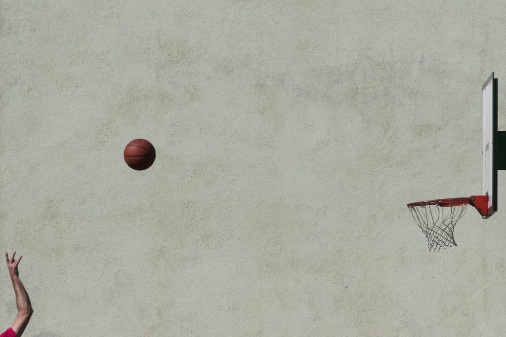 Fly Ball, Fly, © Mario Radakovic, 7th Place, FIBA Photo Contest