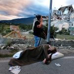 Earthquake center Italy, © Alberto cicchini, 1st Place Winner Photojournalism professional, Fine Art Photography Awards