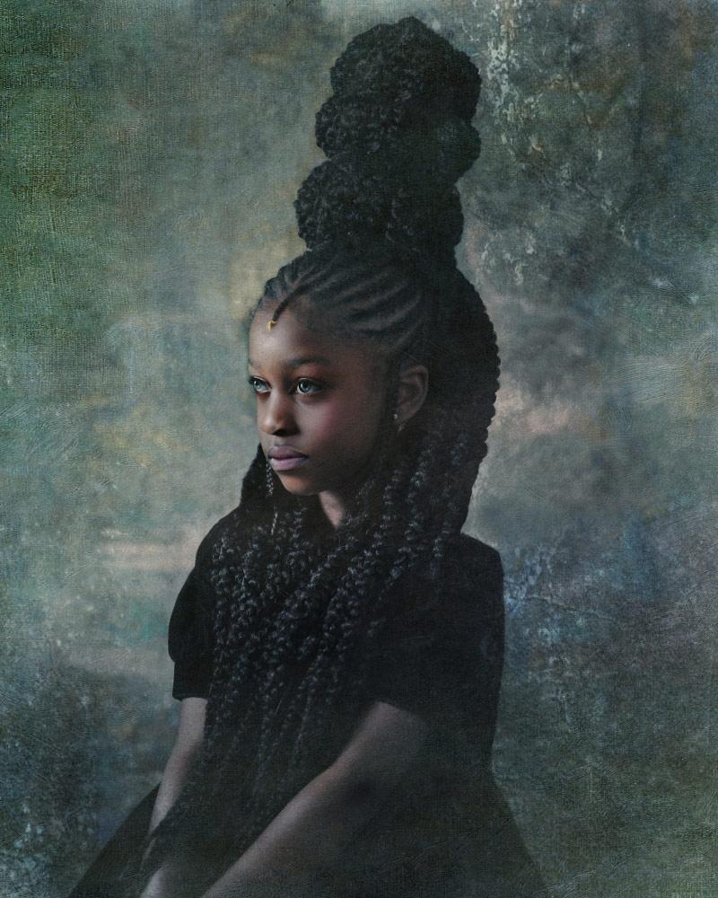 Indigo, © Tawny Chatmo, 1st Place Winner Photomanipulation professional, Fine Art Photography Awards