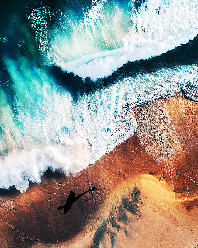 Wave Rider, © Emily Kaszton, 1st Place Winner Seascape professional, Fine Art Photography Awards