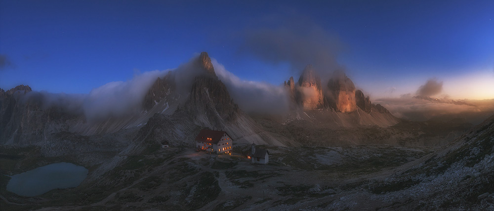 Tre Cime di Lavaredo (Single), © David Martin Castan, 1st Place, Panoramic: Professional, Fine Art Photography Awards 2017 Winners
