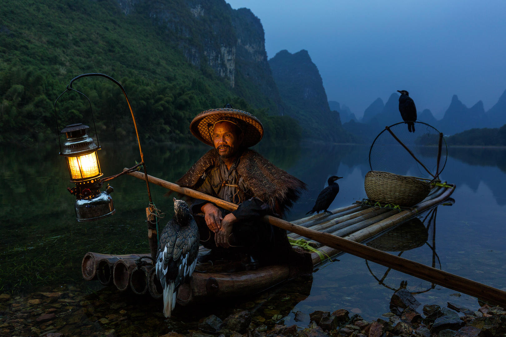 Cormorant Fisherman, © Duangmon C., Crowd 3rd, FIX Photo Festival Awards