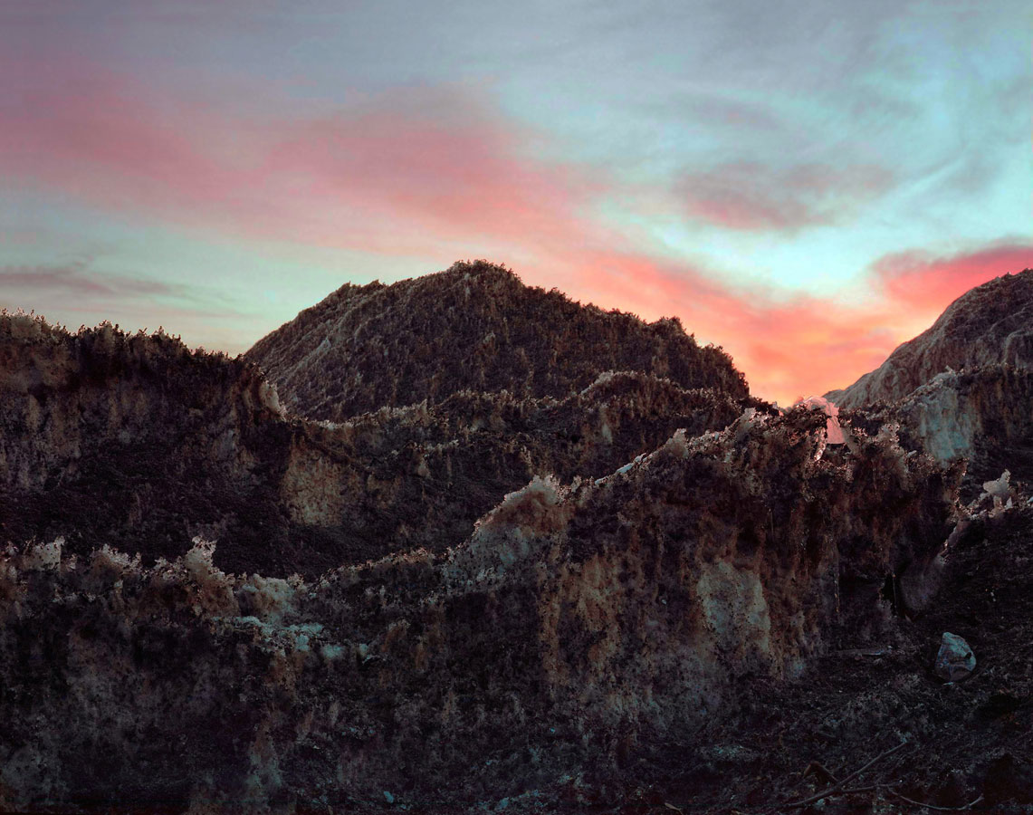 Blue Pine Peak Looking Southeast, 2015, © Peter Croteau, Philadelphia, PA, USA, MESH Call For Entries - FOTOFILMIC