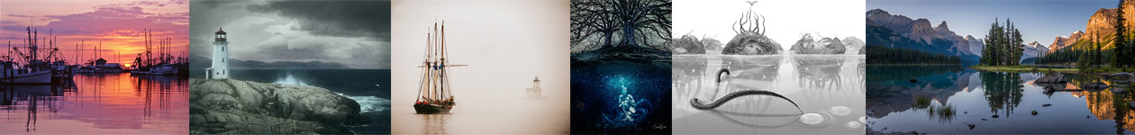Waterscapes Art Competition - Fusion Art