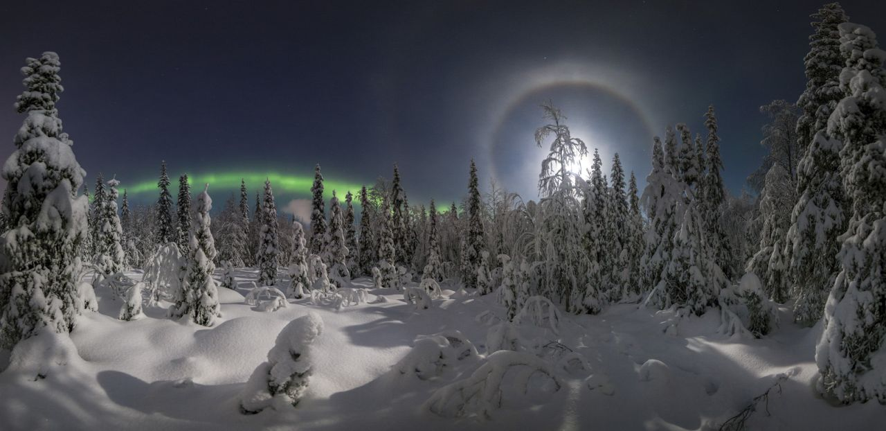 The Moon Halo, © Vitaliy Istomin, Second Place, Golden Turtle Photo Contest