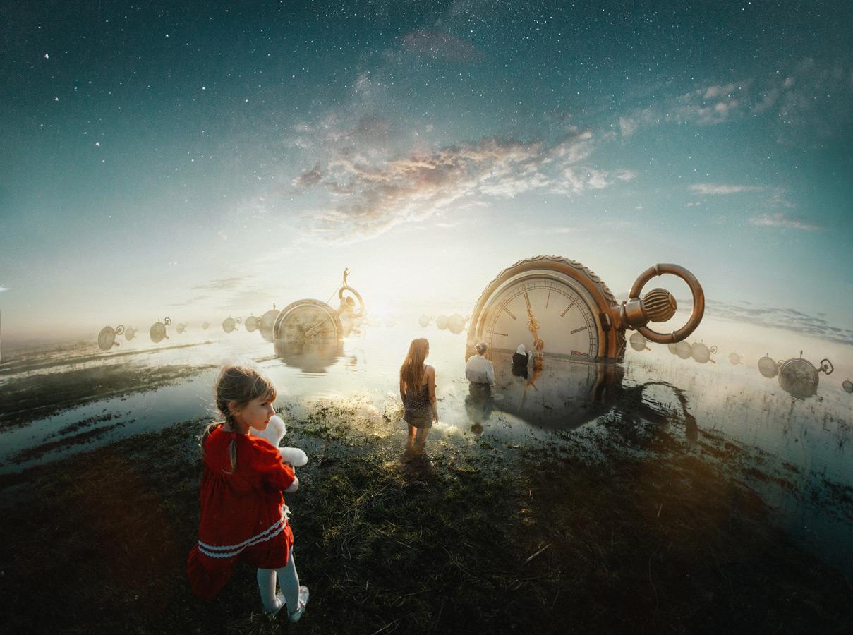 The River of Life, © Dmitrii Rogozhkin, Russian Federation, «Digital Manipulation» Category, 2st prize winner, Hamdan International Photography Award - HIPA