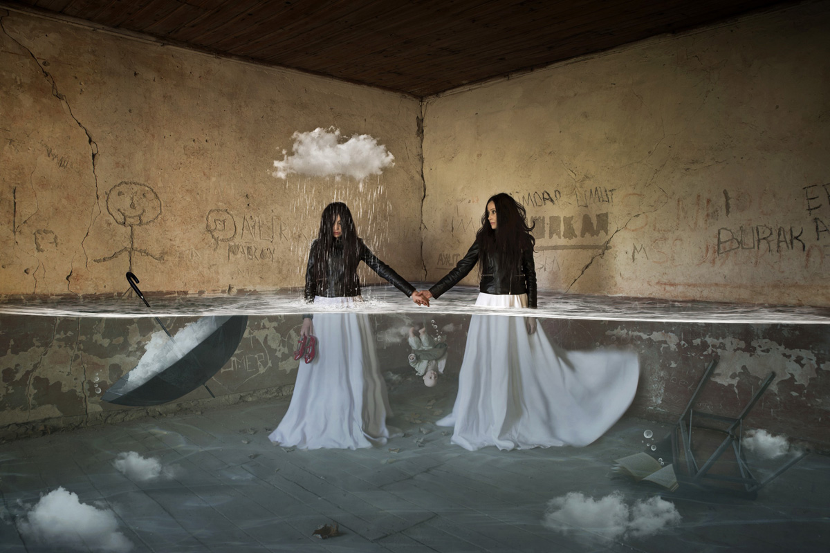 Submergence, © Leyla Emektar, Turkey, «Digital Manipulation» Category, 5st prize winner, Hamdan International Photography Award - HIPA