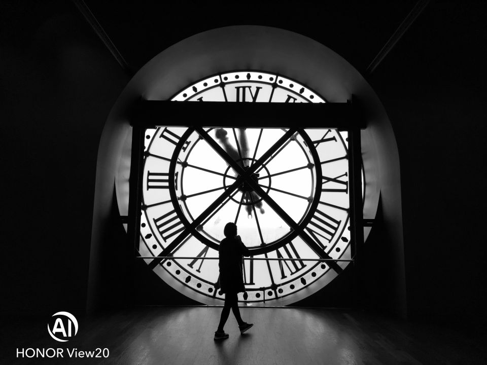 Behind Clock, © LadyMeow, See The Unseen Photo Contest from HONOR