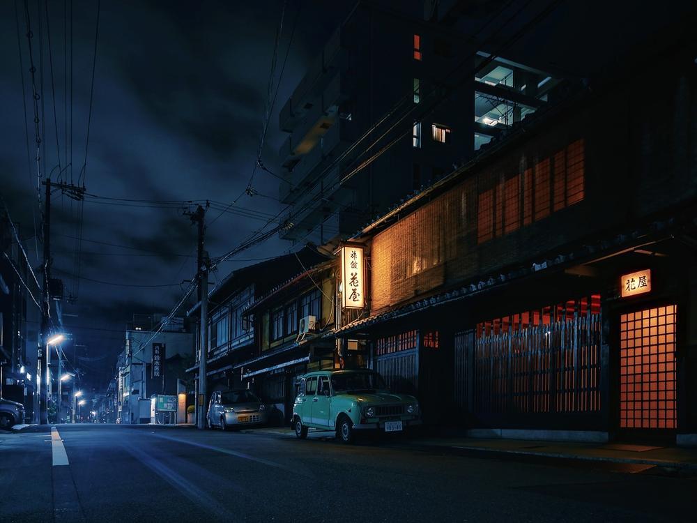 Kyoto Night, © 安冉, Huawei Next-Image Awards