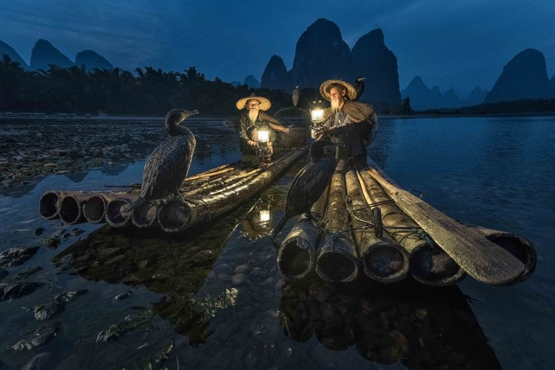 Cormorant fishermen, © Kos Karathanasis, Netherlands, Special Photographer Of the Year, Non-Professional, International Photography Awards — IPA