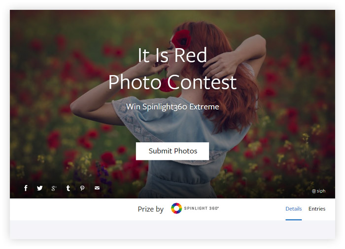 It Is Red Photo Contest