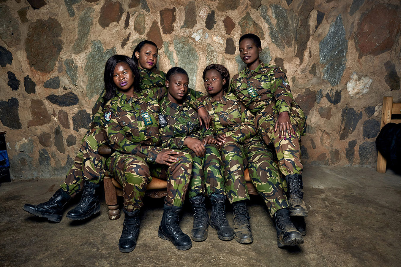 The Black Mambas Grietjie Team. Balule Nature Reserve, South Africa, 2017, © Julia Gunther, Netherlands, Kuala Lumpur International Photoawards - KLPA