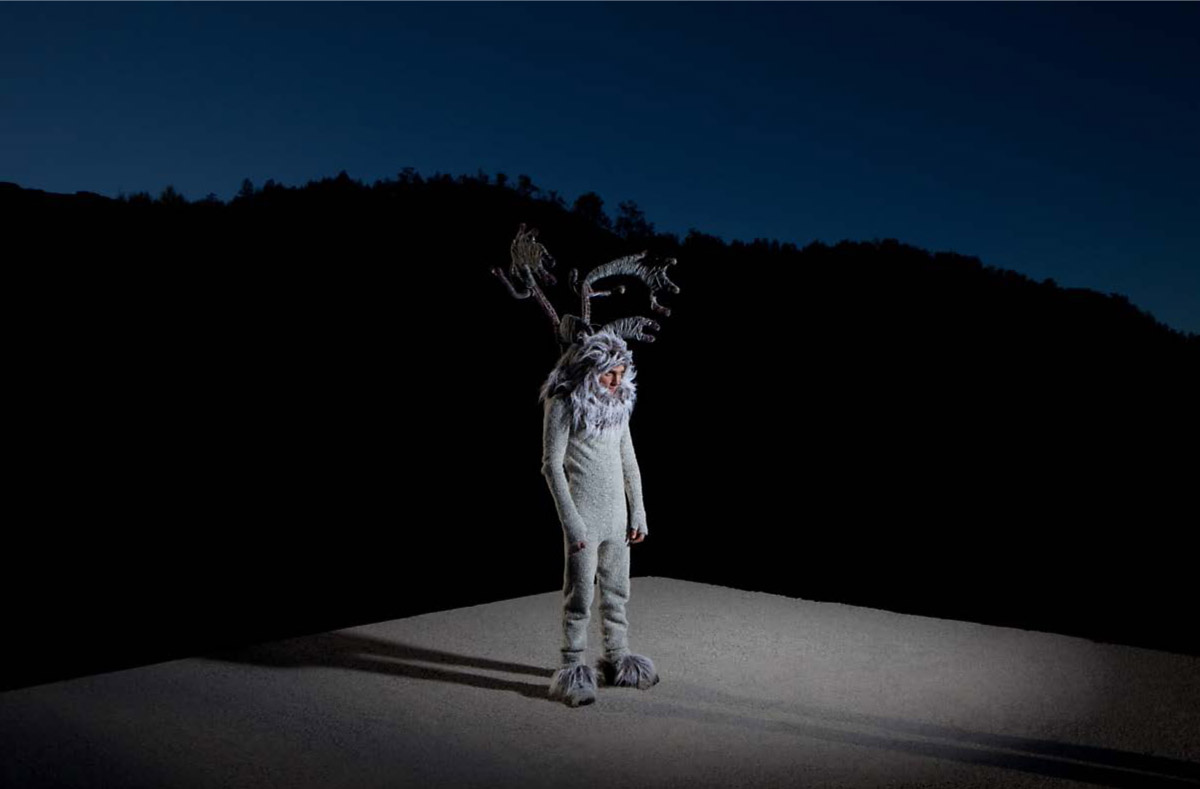 Reindeer-Man, © Lucia Herrero, Spain, Grand Prize, Kuala Lumpur International Photoawards - KLPA