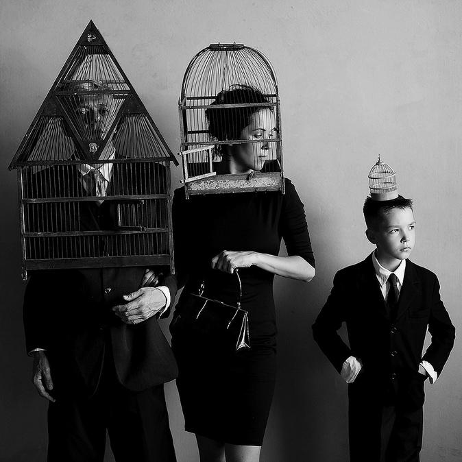 Fathers and Sons, © Olha STEPANIAN, Ukraine, Finalist Category A: Defining Family, Kuala Lumpur International Photoawards 2017 Winner
