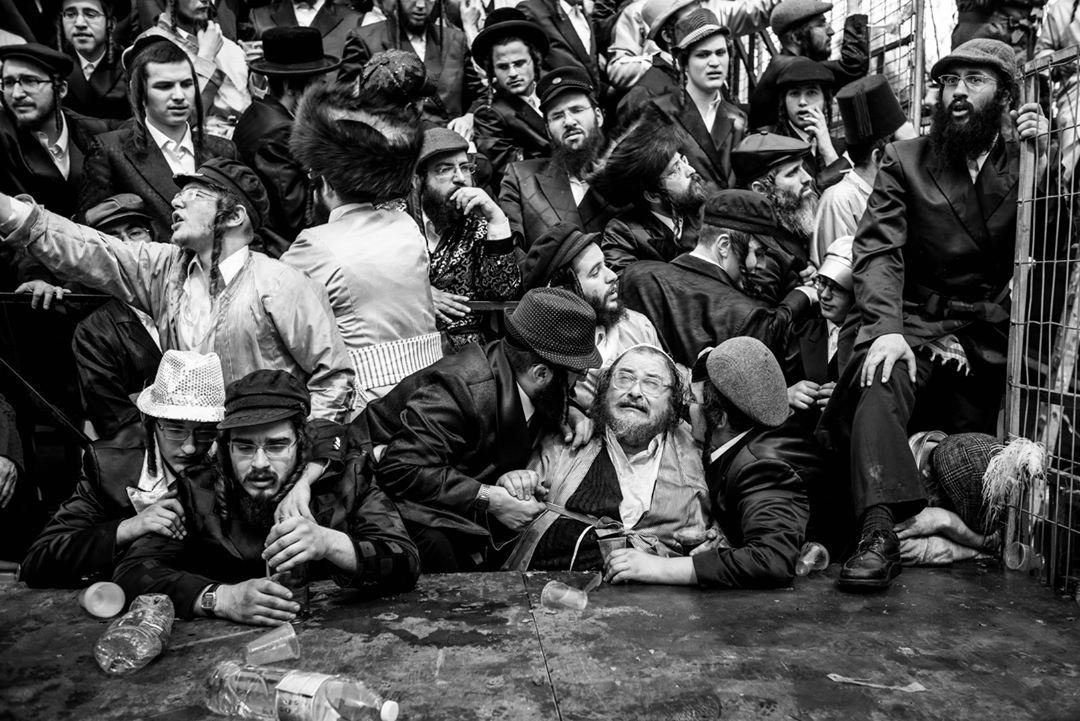One Shot, Pourim Banquet In Jerusalem, © Sébastien Leban, Kolga Tbilisi Photo