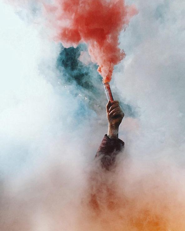 Mobile Photo: Best One Shot, Protest, © Dato Koridze, Kolga Tbilisi Photo
