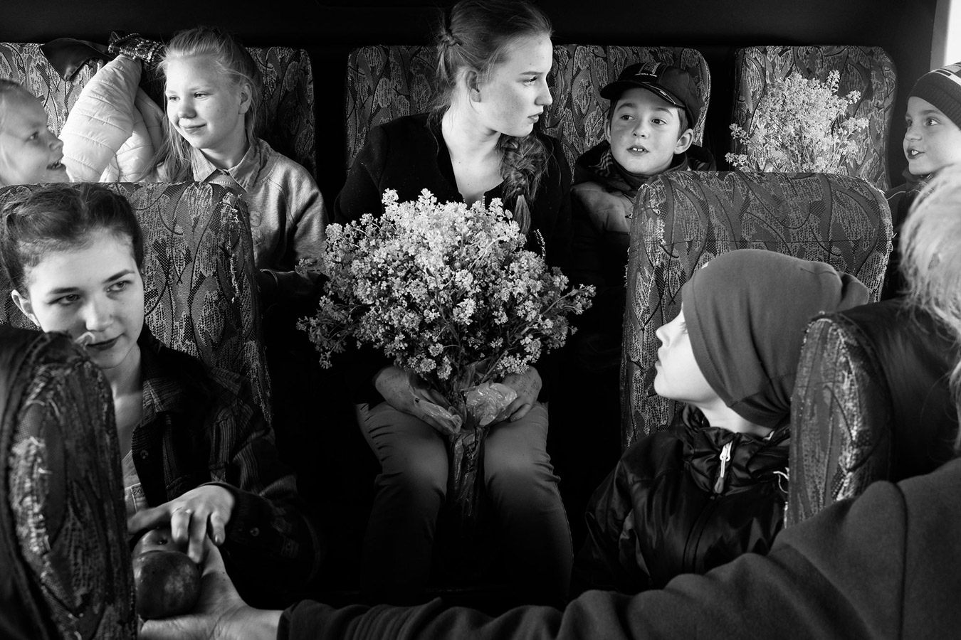 School Bus, © ANNA SHUSTIKOVA, Russian Federation, Finalists, LensCulture Portrait Awards