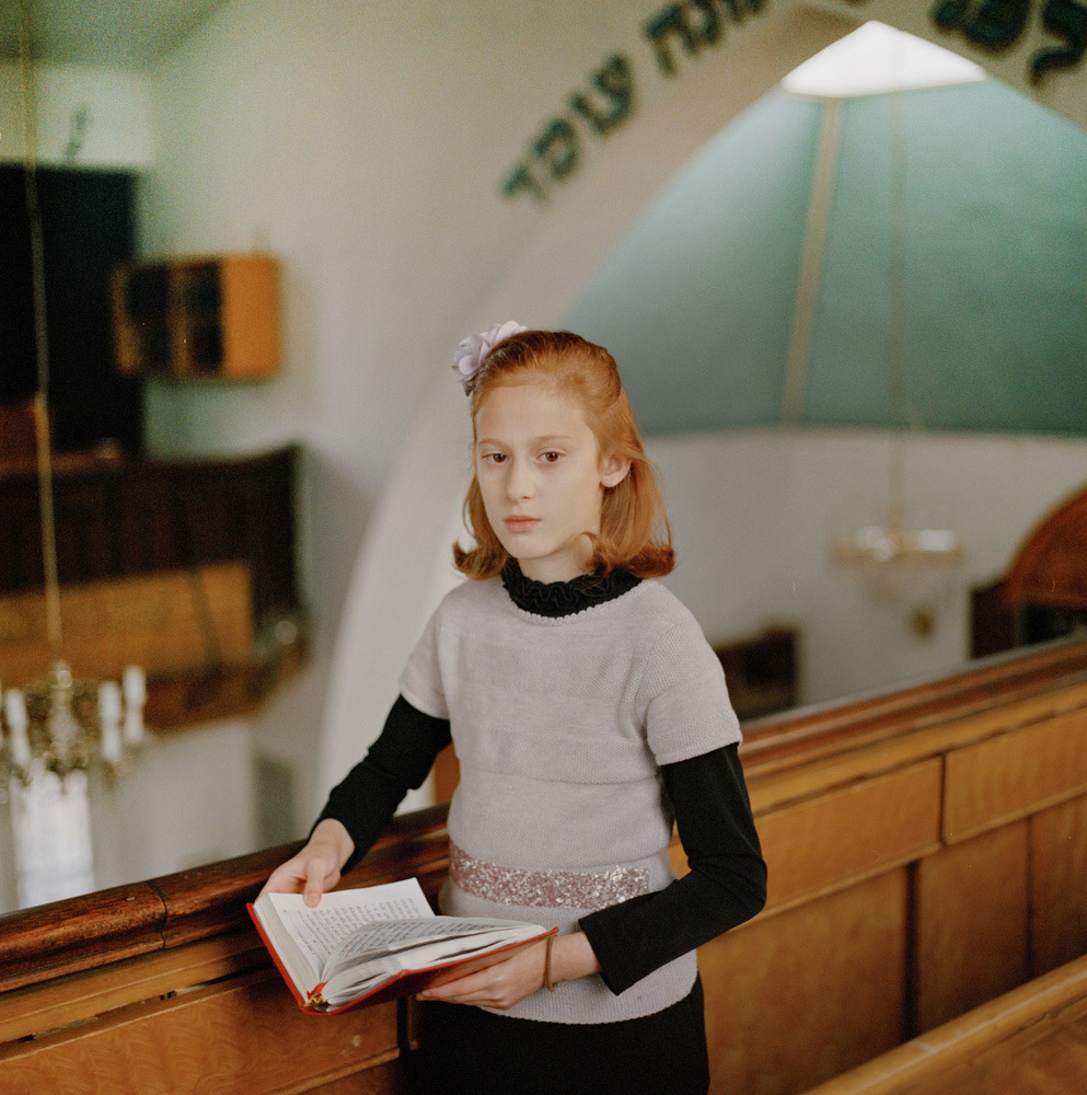 Chayla in Shul, © Laura Pannack, United Kingdom, 3rd Place Single Image Winner, LensCulture Portrait Awards