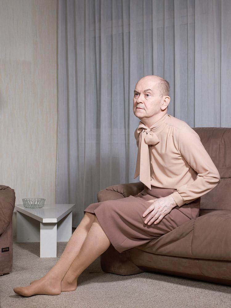 André on His Couch, © Jouk Oosterhof, Netherlands, Juror's Pick, LensCulture Portrait Awards
