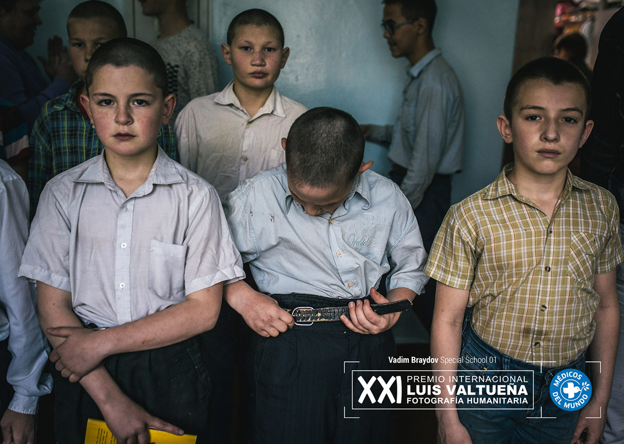 Special School, © Vadim Braydov, Luis Valtueña International Humanitarian Photography Award
