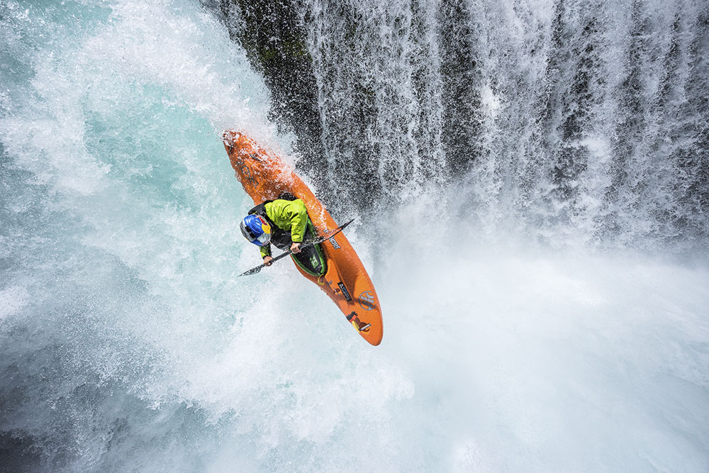 Spirit Falls, © Rafa Ortiz, Michael Clark, US, Adventure end Extreme Sports Winner, Memorial Maria Luisa Photography Contest