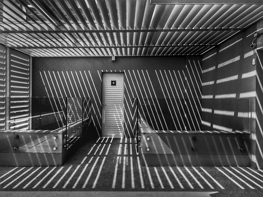 Crossed Lines, © Joao Batista Sousa, 1st Place Architecture & Design Winner, Mobile Photography Awards