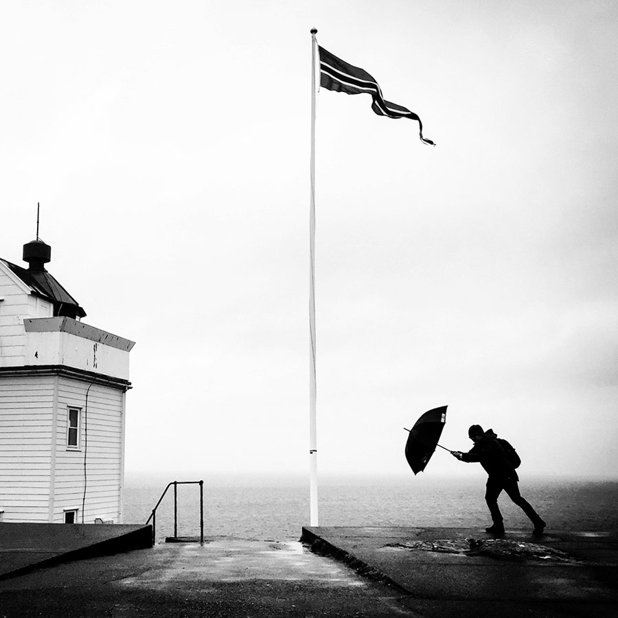 Nordic Saga, © Douwe Dijkstra, 1st Place Black & White Winner, Mobile Photography Awards