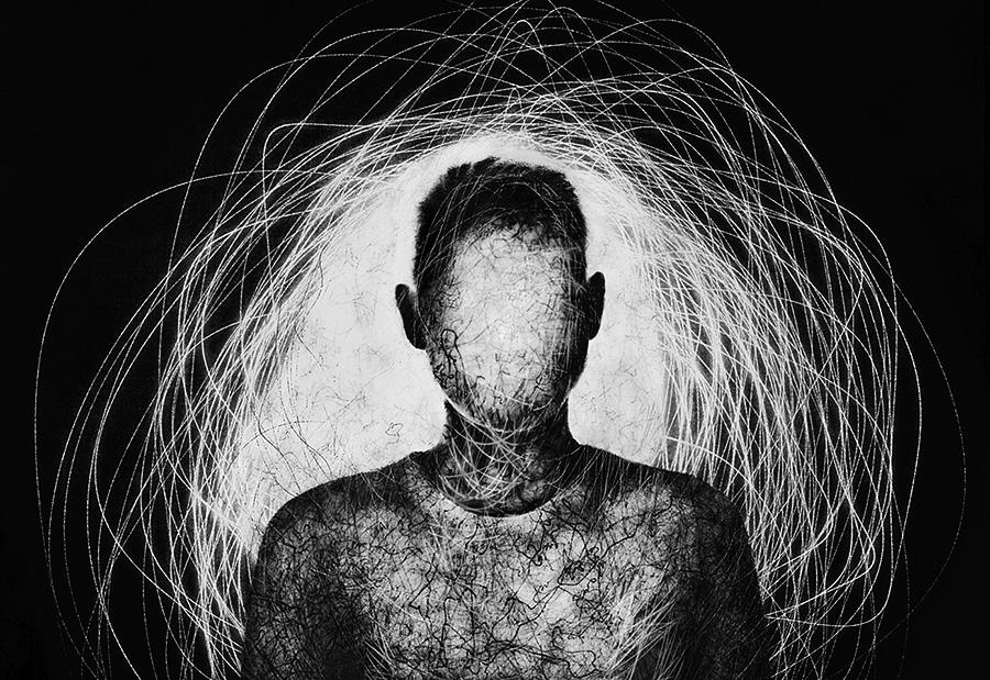 Inner Light, © Marina Yushina, Russia, Abstract Photographer of the Year 2017, Monochrome Photography Awards
