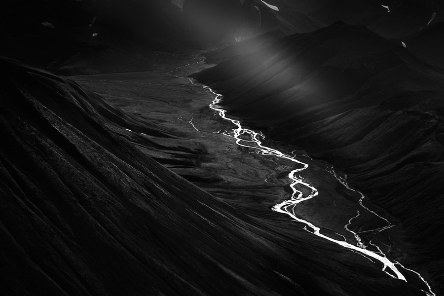 Origin, © Samuel Feron, France, Landscapes Photographer of the Year 2017, Monochrome Photography Awards