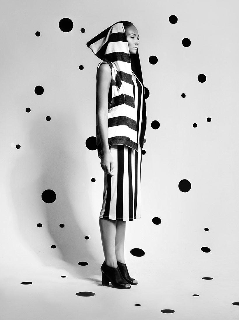 Contrast, © Marzena Kolarz, 1st Place - Black & White Portrait Series of the Year 2018, MonoVisions Photography Awards