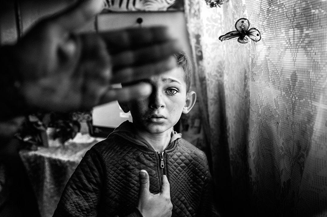 Gypsy Boy, © Pietro Di Giambattista, Black & White Photo of the Year 2018, MonoVisions Photography Awards