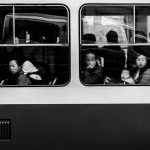 Atomic commuters, © Benjamin Decoin, 1st Place - Black & White Travel Series of the Year 2018, MonoVisions Photography Awards