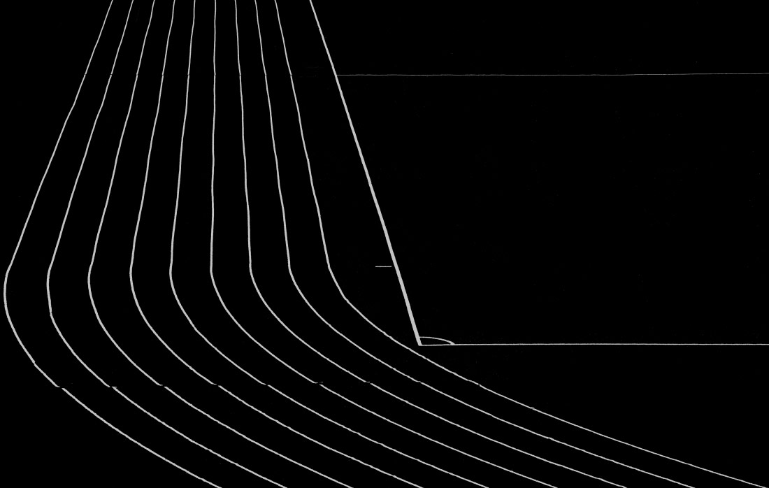 Olympic Lines, © Hans Peter Rank, 1st Place - Black & White Abstract Photo of the Year 2018, MonoVisions Photography Awards