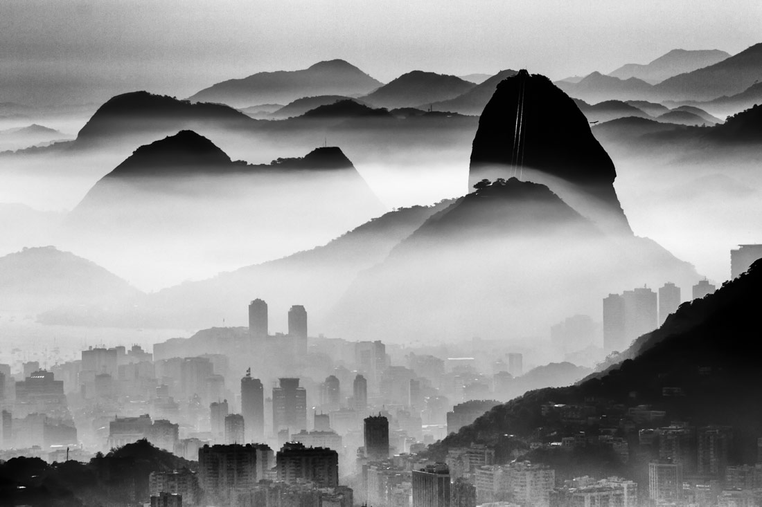 Just My City, © Andre Melo-Andrade, 1st Place - Black & White Landscapes Photo of the Year 2018, MonoVisions Photography Awards