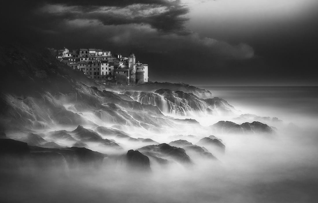 Poseido Rough Voice, © Paolo Lazzarotti, Italy, 1st Place - Black & White Landscapes Series Of The Year 2017, MonoVisions Photography Awards