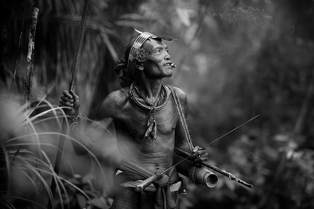 Mentawai aboriginal, © Alexandrino Lei Airosa, Macao, 1st Place - Black & White Travel Series Of The Year 2017, MonoVisions Photography Awards